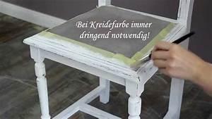 Möbel Farbe Ohne Schleifen : m bel mit farbe in shabby chic objekte verwandeln youtube ~ Watch28wear.com Haus und Dekorationen