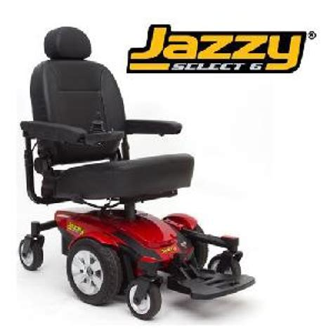 Jazzy Select Power Chairs by Jazzy Select 6 Power Wheelchair