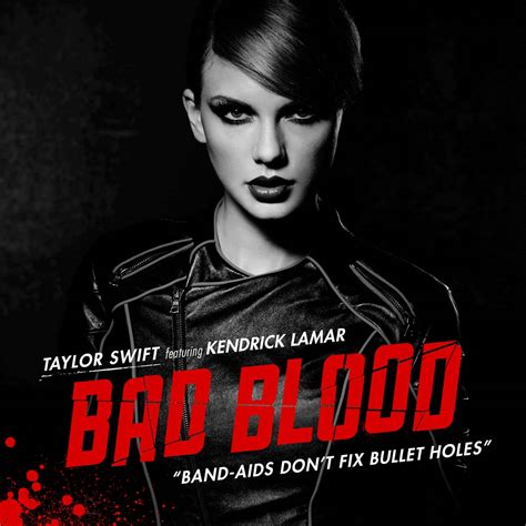 Taylor Swift con Kendrick Lamar: Bad blood, la portada de ...