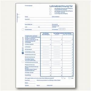 Büroartikel Auf Rechnung : zweckform formular lohnabrechnung mini jobs din a5 50 blatt 505 b robedarf bei ~ Themetempest.com Abrechnung