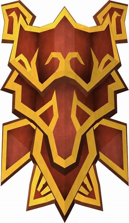 Shield Dragon Square Runescape Bronze Clipart Transparent