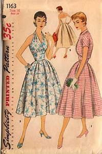Simplicity 1163 - Vintage Sewing Patterns