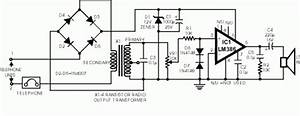 Telephone Amplifier Circuit Diagram And Instructions
