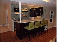 Basement Bar1 Modern Home Theater dc metro by