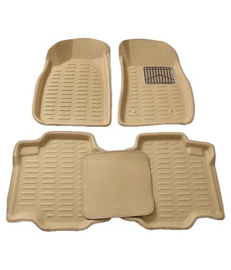 floor mats price in india 3d car floor mat beige complete car set for toyota innova buy 3d car floor mat beige complete