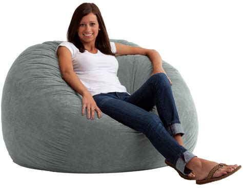 large bean bag chair suede in gaming chairs