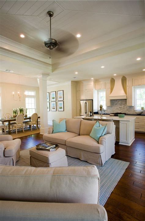 Decorating Ideas For Open Living Room And Kitchen - open concept kitchen living room design ideas