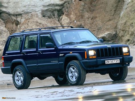 sports jeep cherokee pictures of jeep cherokee sport xj 1997 2001 1024x768
