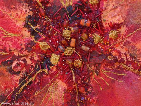 bloemen in afwasmiddel en water fotograferen blog schilderen met acrylverf 2