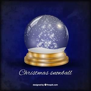 Boule De Neige Noel : boule de neige de no l t l charger des vecteurs gratuitement ~ Zukunftsfamilie.com Idées de Décoration
