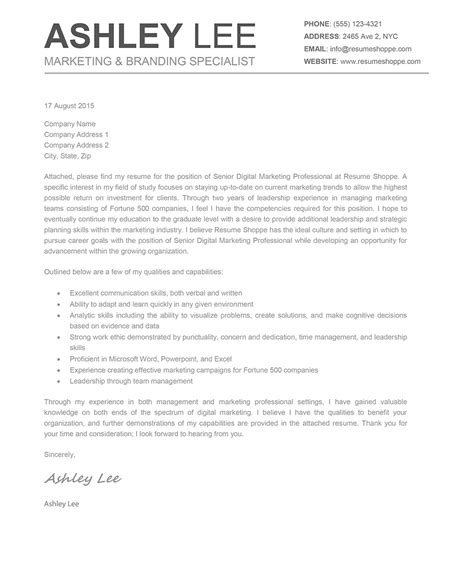 ashley cover letter creative resume mac  word