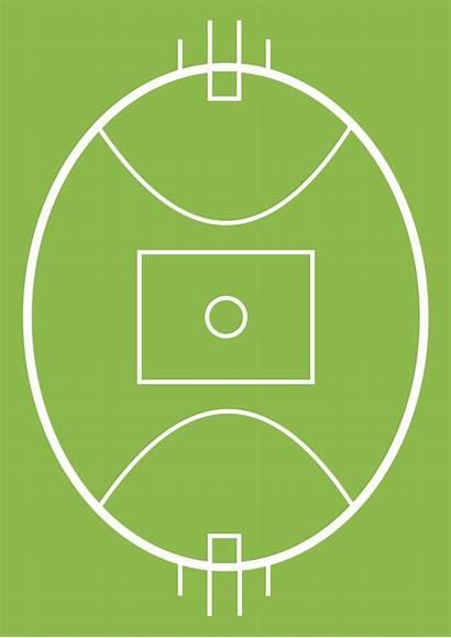 Football Rules Australian Positions Field Afl Template