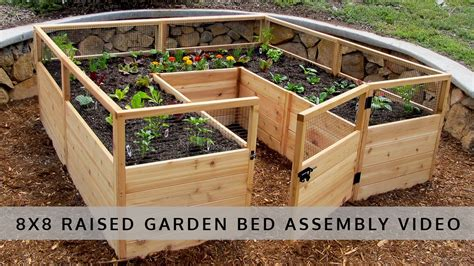 Garden In A Box by Garden In A Box 8x8 Assembly Olt