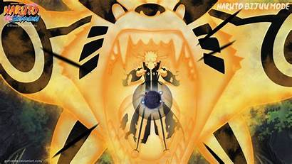 Naruto Bijuu Mode Kurama Wallpapers Minato Mode1