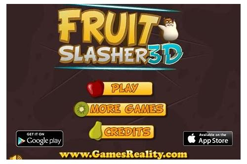 free download fruit slasher game