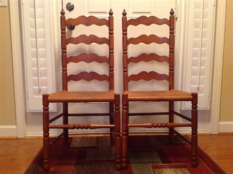 Authentic Antique Vintage Chairs Old Plank French Gilded