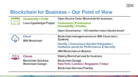 outthink blockchain with ibm