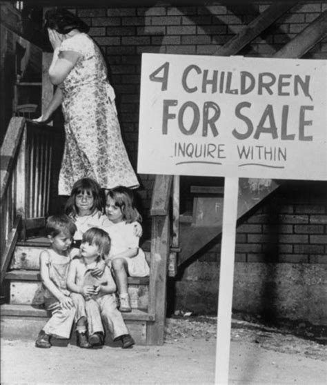 white americans suffer   great depression