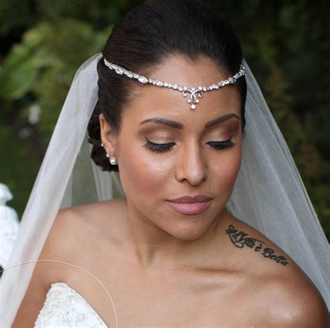 Bridal Forehead Bands Bridal V Bands V Bands Bridal Hair Vines