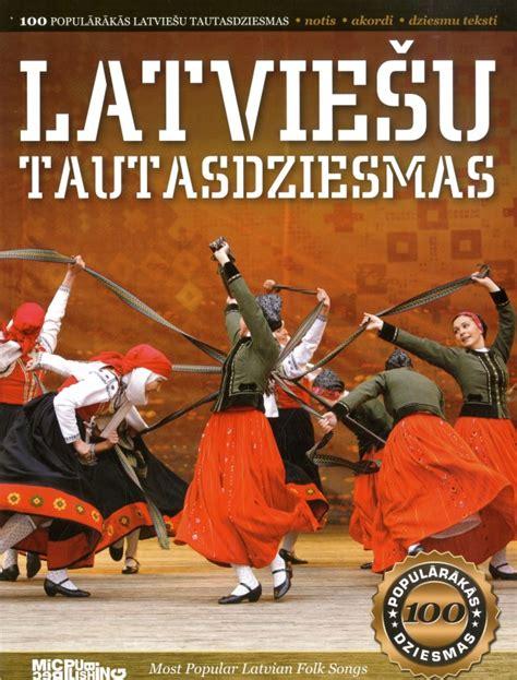 100 populārākās latviešu tautasdziesmas (Notis)
