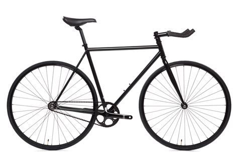 black cycling matte black 6 bicycle fixie fixed gear bikes state
