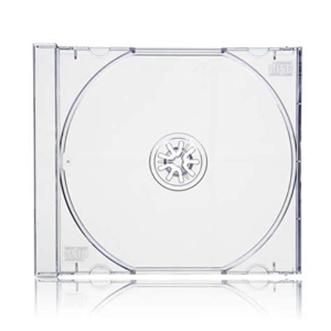 jewel case cdr clear tray 10mm datastores