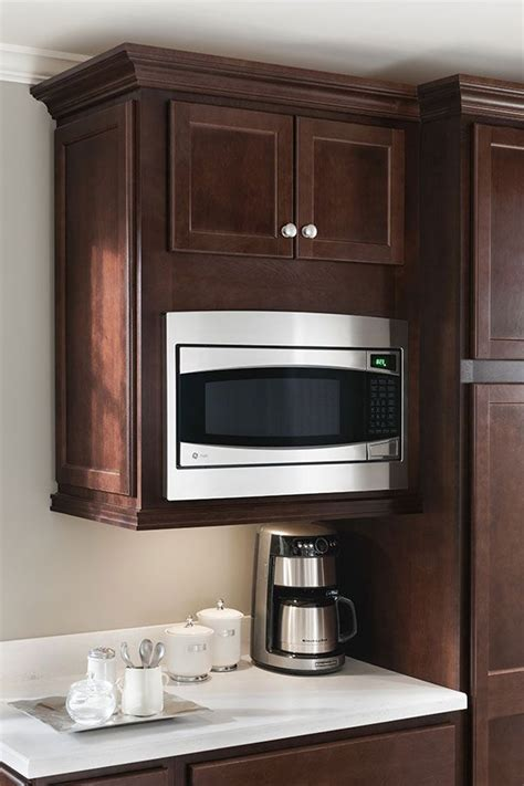 how wide is a microwave cabinet a wall built in microwave cabinet keeps counter clear and