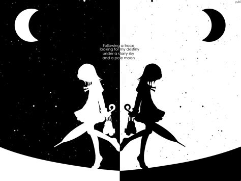 Black And White Anime Wallpaper - black and white anime 6 cool hd wallpaper