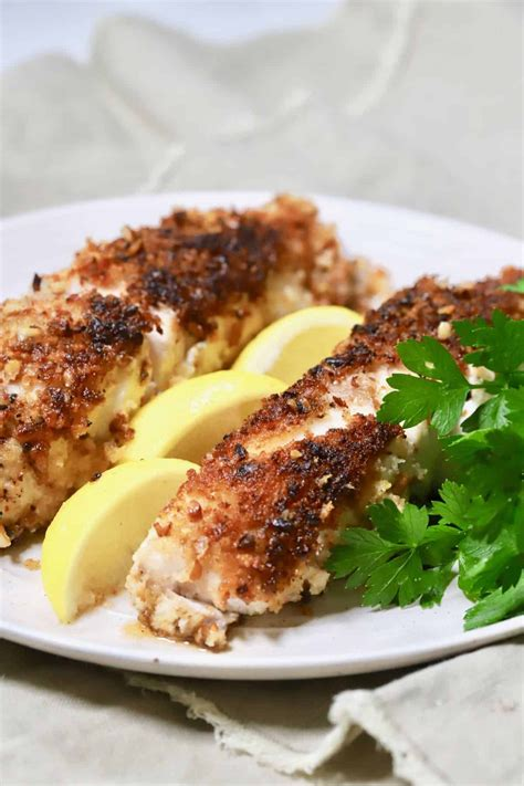 recipe gritsandpinecones fish pecan crusted fillets