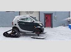 HalfTrack Conversion Finally Gives the smart fortwo a Bit