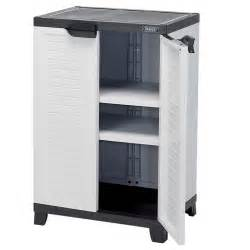 draper 23233 ucab4 heavy duty plastic 2 shelf utility