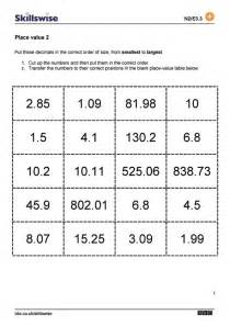 money place value worksheets place value 2
