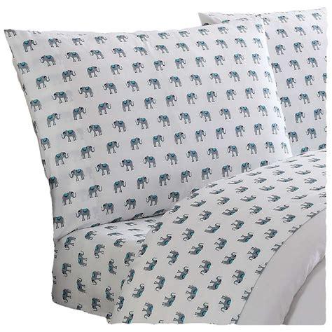 truly soft everyday printed elephants king sheet