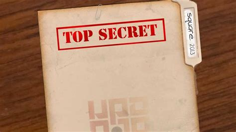 After Effects Template Secret Files by Top Secret Document File V2 After Effects Youtube
