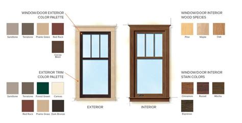 andersen window colors 17 best images about craftsman windows on home