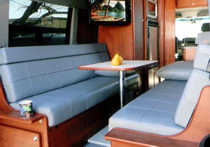 designing  custom camper van conversion seats bed