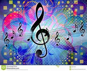 Abstract Funky Music Background Stock Photo - Image: 28210870