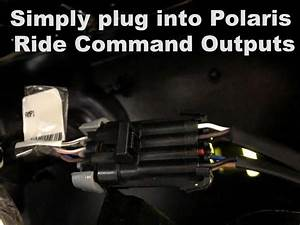 Polaris Rzr Ride Command Add An Amplifier Rca Harness