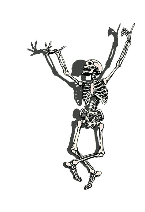 cartoon skeleton images   clip art