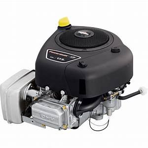 Briggs  U0026 Stratton Powerbuilt Ohv Vertical Engine  U2014 500cc