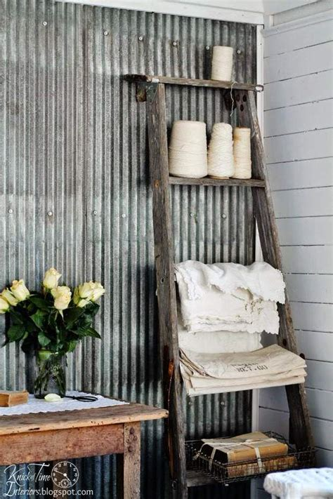 vintage farmhouse kitchen decor corrugated metal decor ideas projects decorating