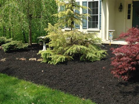 mulching beds mulch flower bed crowdbuild for