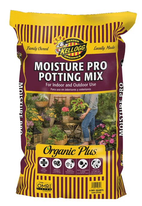 Kellogg Garden by Moisture Pro Potting Mix For Indoor And Outdoor Use