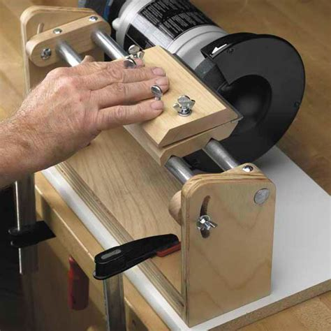 buy woodworking project paper plan  build hollow grind