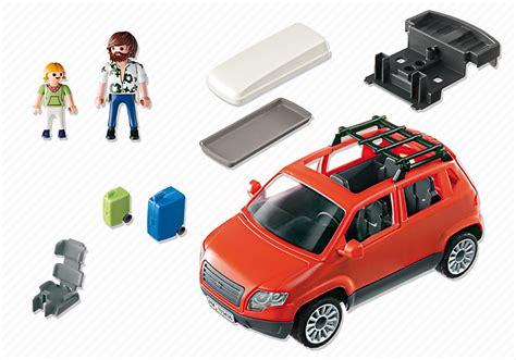playmobil 5436 voiture avec coffre de toit achat vente univers miniature cdiscount