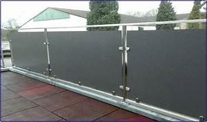 Sichtschutz Für Balkongeländer : balkon mit trespa platten hauptdesign ~ Markanthonyermac.com Haus und Dekorationen