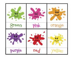 Preschool Printables Colors