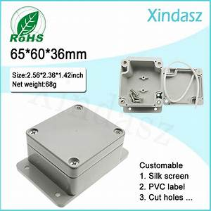 High Quality Small Plastic Junction Box Waterproof Project Enclosure For Electrical Equipment