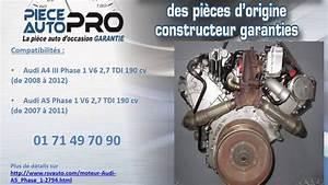 Fiabilité Moteur 2 7 Tdi Audi : moteur garanti audi a5 a4 v6 2 7 tdi 190cv cgka youtube ~ Maxctalentgroup.com Avis de Voitures