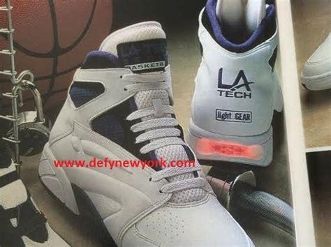 la gear light up shoes 90s sneakers l a gear defy new york sneakers